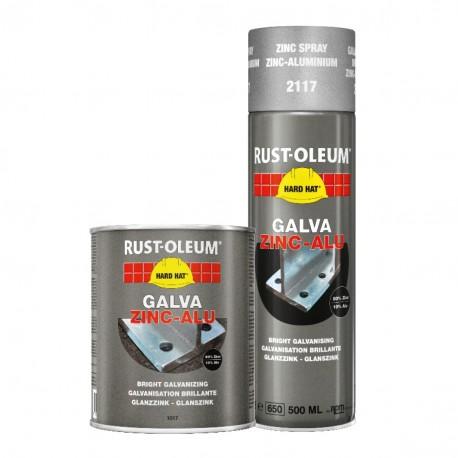 Metalo dažai Rust - Oleum GALVA ZINC - ALU