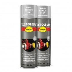 Dvigubo veikimi aerozoliniai metalo dažai (metalo spalva+spalvos apsauga), 2111METALLIC TOPCOAT,