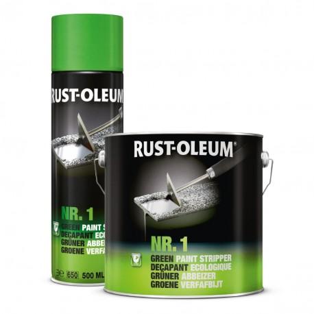 dažų valiklis, visiems dažų tipams šalinti, NR.1 Green Paint Stripper
