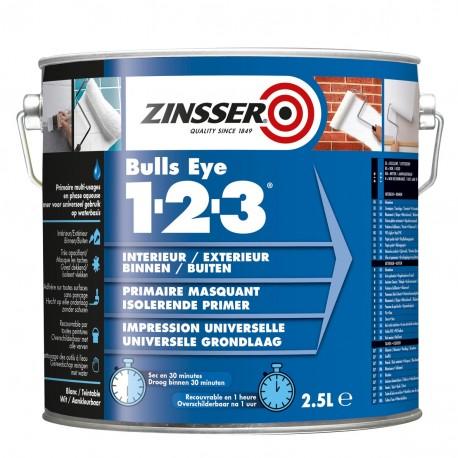 Interjero ir eksterjero sienų gruntas Zinsser® BULLS EYE® 1-2-3