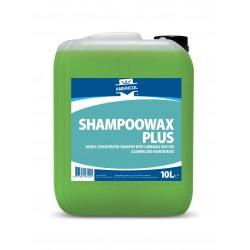 AMERICOL Profesionalus automobilių šampūnas su Karnaubos vašku - SHAMPOOWAX PLUS (10L). Koncentratas